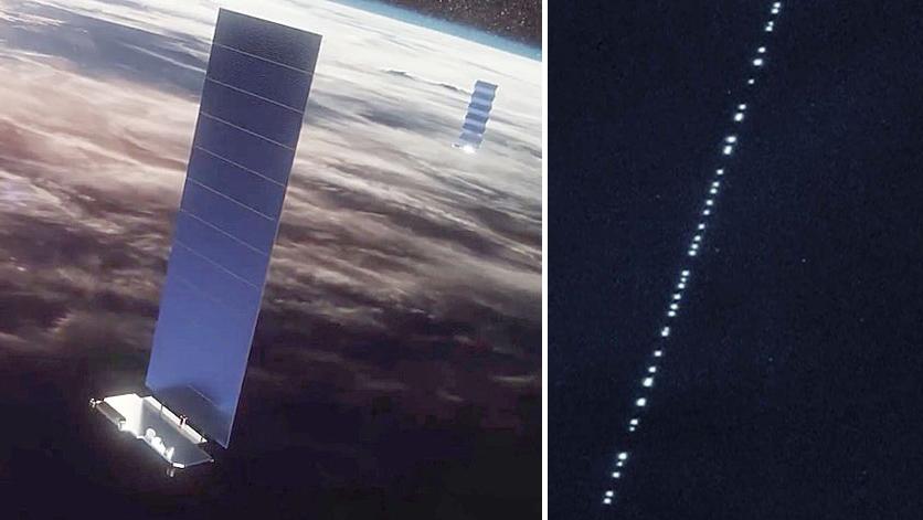 La red Starlink de Elon Musk ya ha comenzado a surcar los cielos