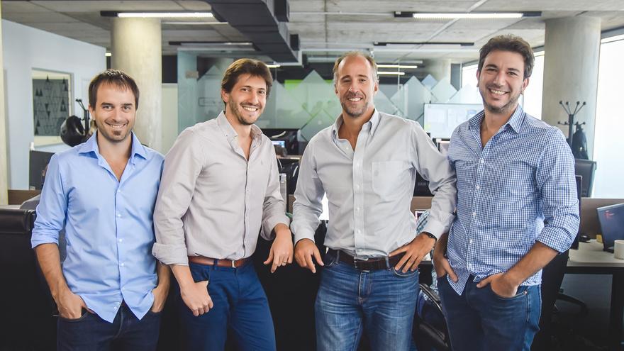 Sebastián Núñez Castro, Julián Lisenberg, Fernando Tauscher y Raúl Oyarzun