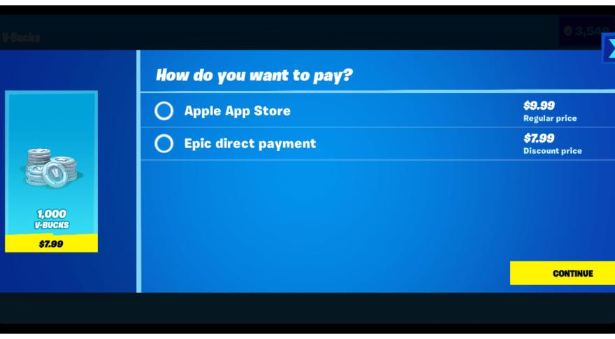 El pago directo molestó a Apple