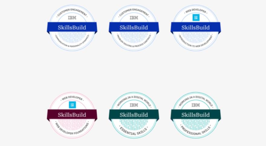 Las insignias de IBM para afianzar el aprendizaje