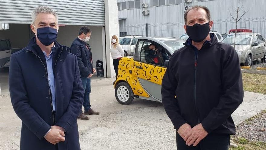 El Ministro de Transporte, Mario Meoni, visitó la planta de Sero Electric ubicada en el Parque Industrial Tecnológico de Castelar,