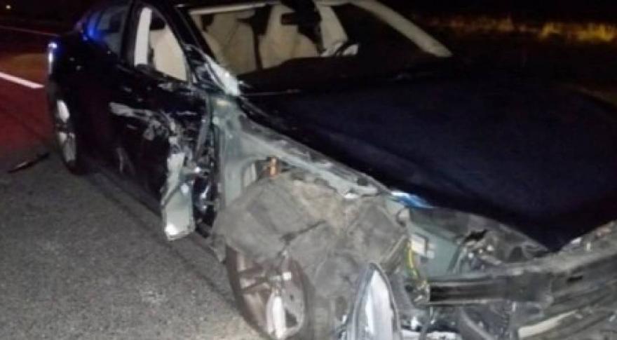 se conoció como otro Tesla Model S en modo Autopiloto chocó contra una patrulla en Carolina del Norte