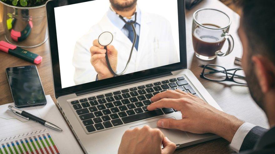 La telemedicina ganó gran cantidad de adeptos en la pandemia.