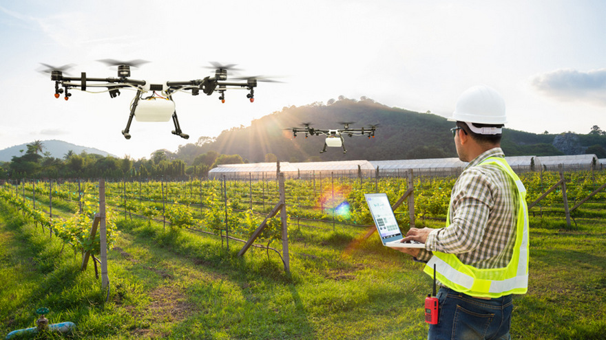Los drones tienen cada vez más usos