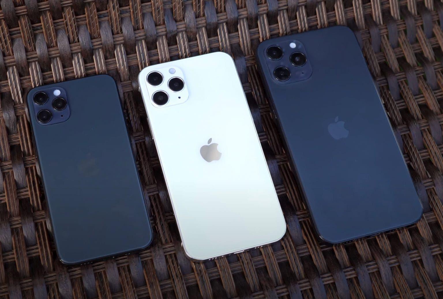 La parte trasera de los nuevos iPhone