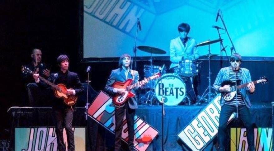 La magia de los Beatles, en vivo