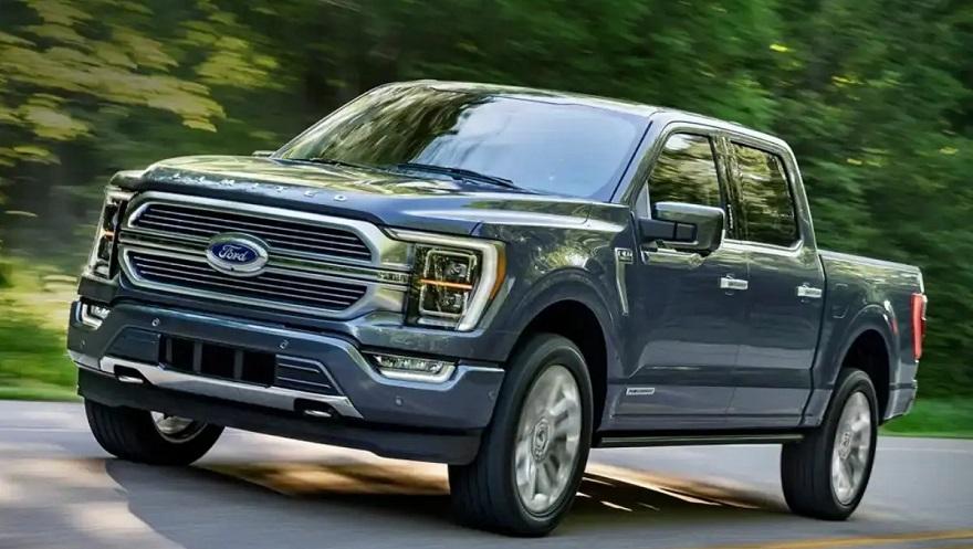 Camioneta Ford eléctrica