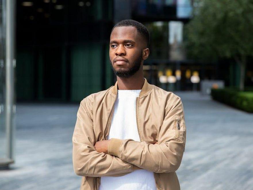 El cofundador de AudioMob, Wilfrid Obeng