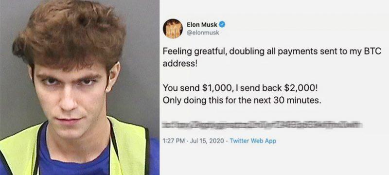 en 2020 a la edad de 17 años, Ivan Clark fue arrestado bajo cargos de piratear docenas de cuentas de Twitter famosas