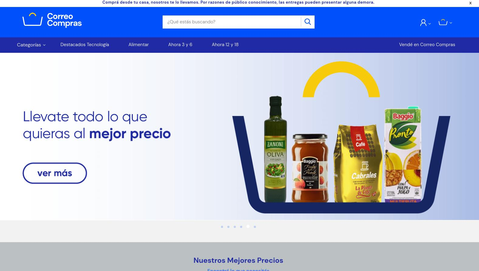 Correo Compras permitirá adquirir productos de todos los rubros a menores precios