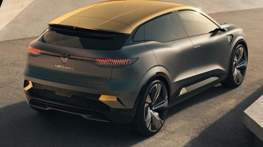 La versión comercial del Renault Megane eVision estará disponible durante 2021