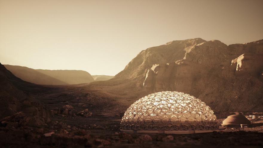 La Mars Society ha elegido a Nüwa como uno de los diez modelos más factibles entre 175 distintos.