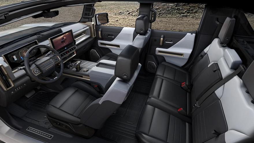 Espacio y tecnología de sobra para la Hummer EV.