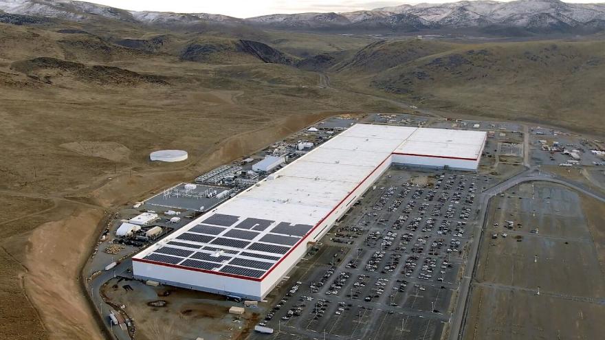 Fábrica de Tesla en Estados Unidos