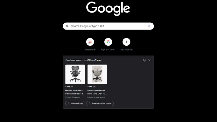 Así se verán los avisos en Chrome