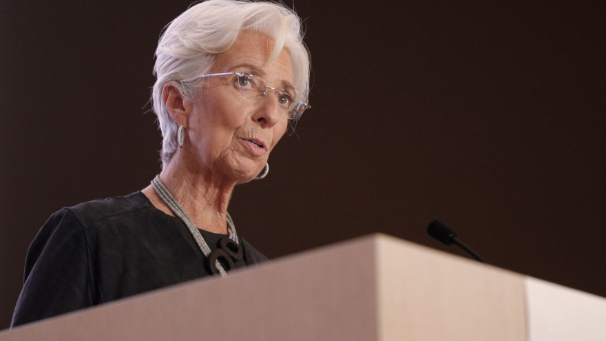 Christine Lagarde, presidente del BCE