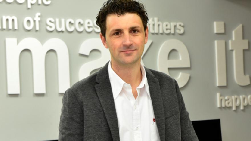 Mirco Bombieri, fundador de la empresa