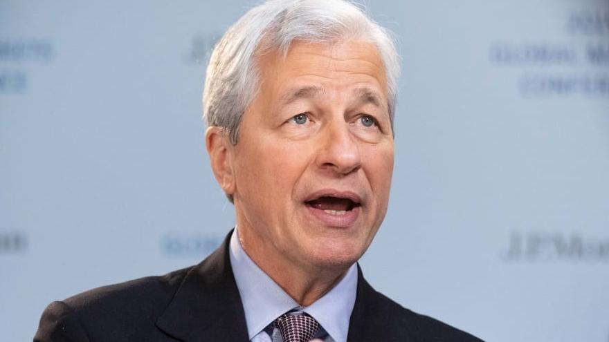 Jamie Dimon, director ejecutivo de JP Morgan Chase