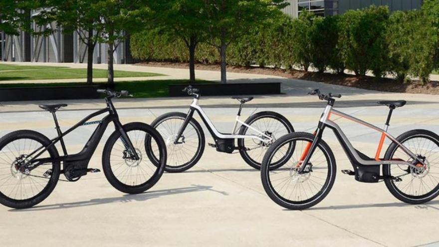 Las e-bikes Harley-Davidson tienen motores Brose (de hasta cuatro potencias: eco, tour, deportivo y empuje)