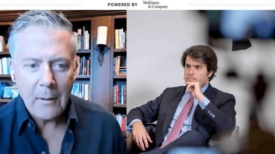 Steve Cadigan y Prudencio Pedrosa