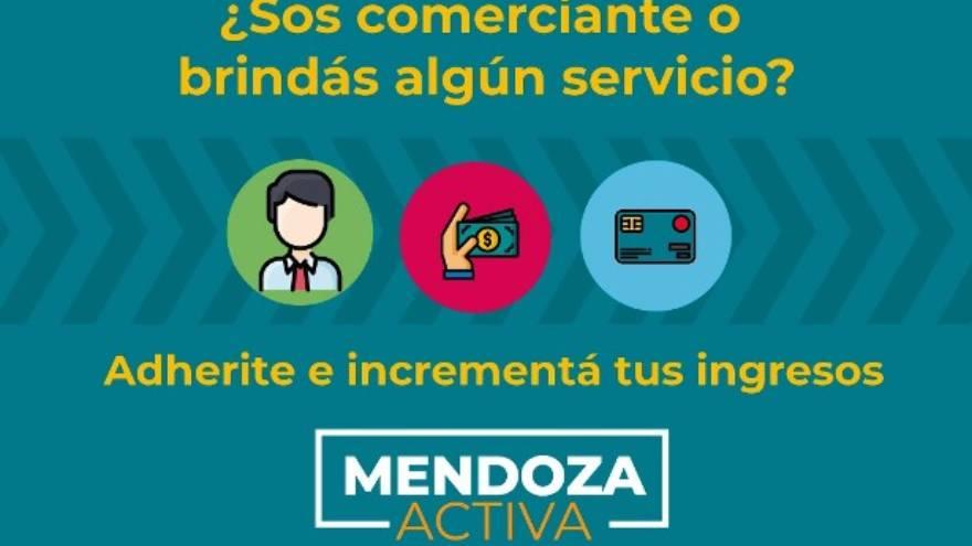 El sistema de billeteras virtuales es parte del programa Mendoza Activa