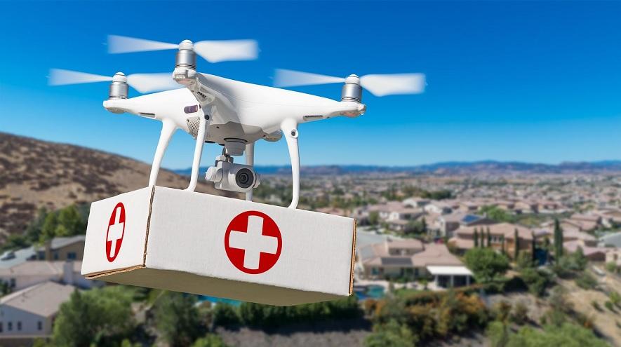 Drones ayudando en la lucha contra el coronavirus