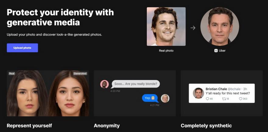 Esta web perite crear clones digitales de tu rostro con increíble facilidad
