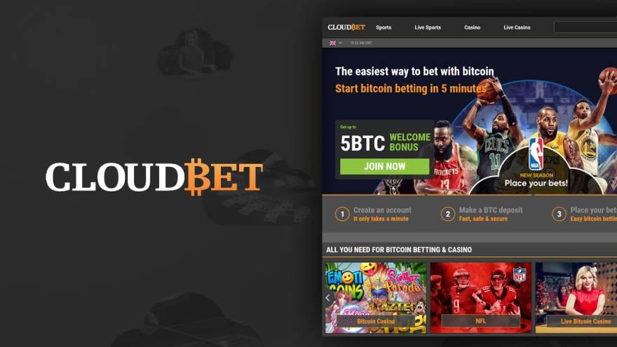 El sitio Cloudbet existe desde 2013