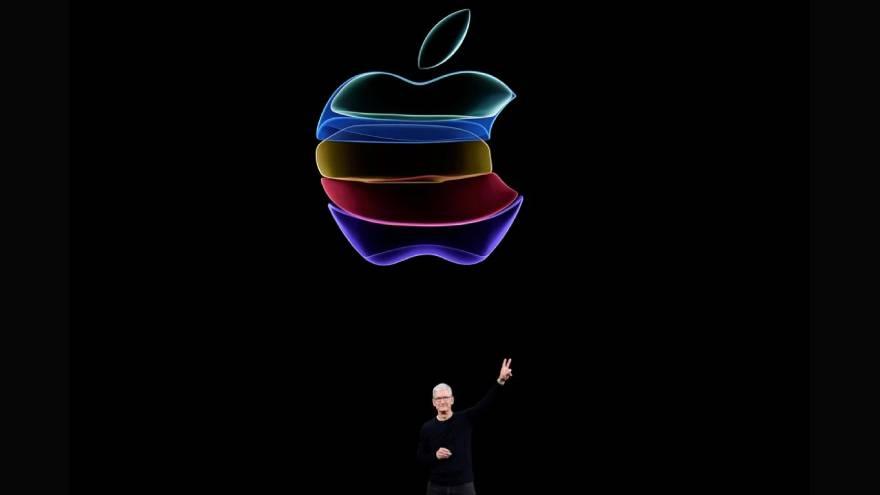 La relación PER actual de Apple es de casi 41, después de que las acciones se dispararan alrededor más del 81% el año pasado.