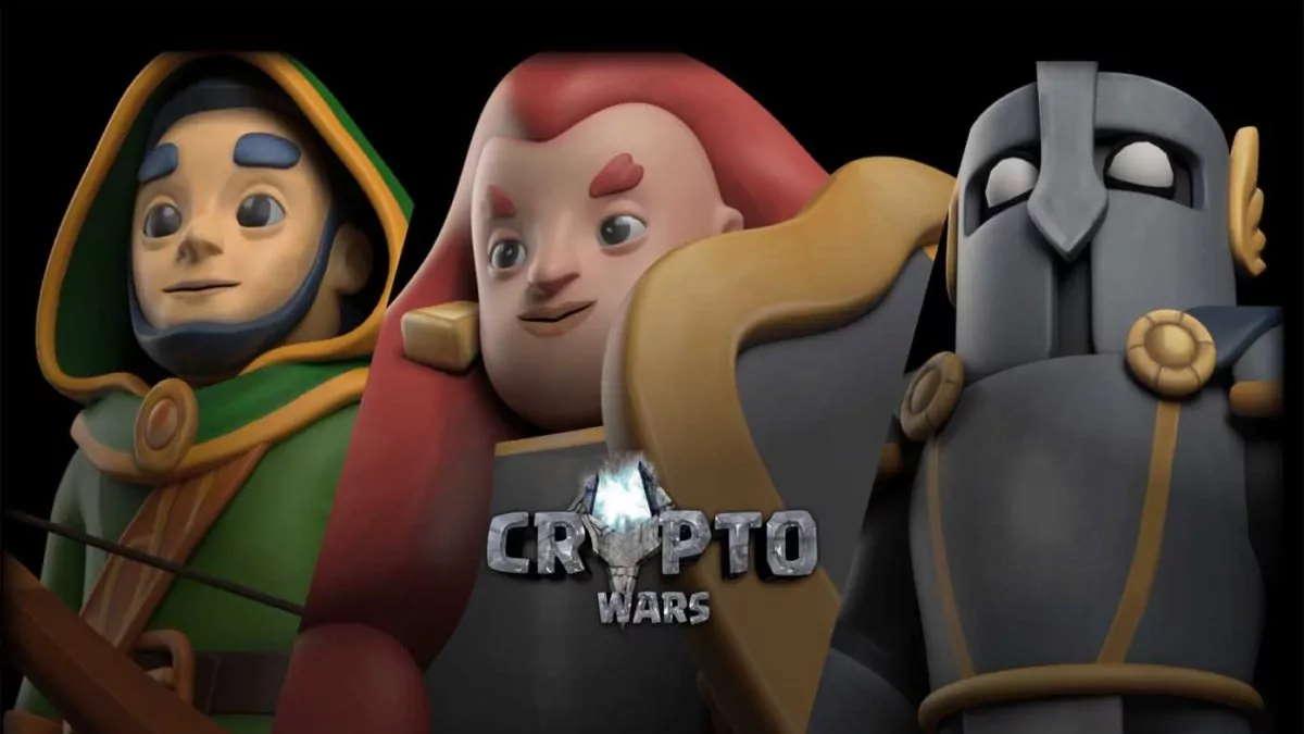 CryptoWars es uno de los juegos más usados para obtener ganancias en criptomonedas
