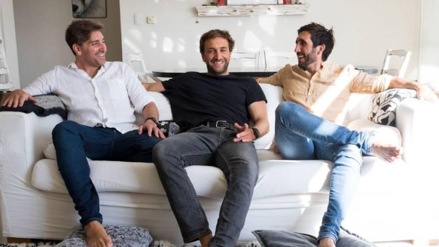 Fernando Unzué, Juan Ignacio Collar Lopez y Emiliano Suazo, fundadores de Alohar