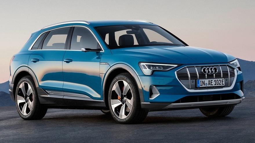 Audi e-tron, el mejor exponente eléctrico de lujo.