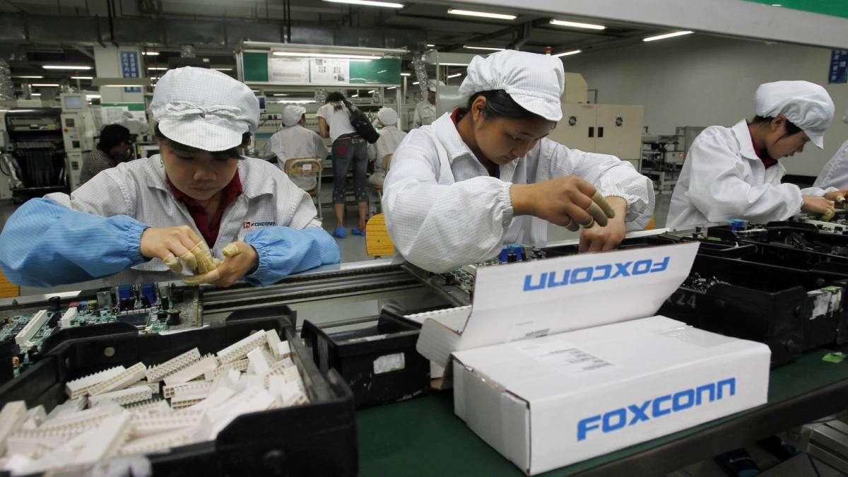 Foxconn ya tiene el 30% de su producción fuera de China y espera aumentar tal proporción