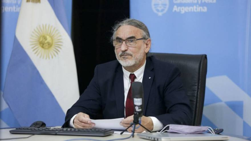Luis Basterra, ministro de Agricultura