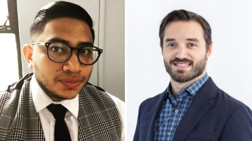 Jonathan Rivas (CFO) y Augusto Hassel (CEO), cofundadores de Parra Payments