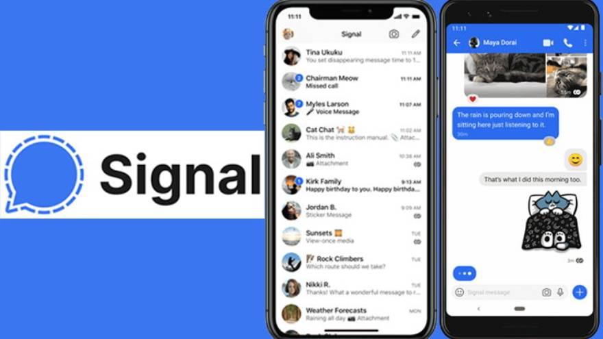 Signal ha tomado relvancia mundial en losúltimos tiempos sumando gran cantidad de nuevos usuarios