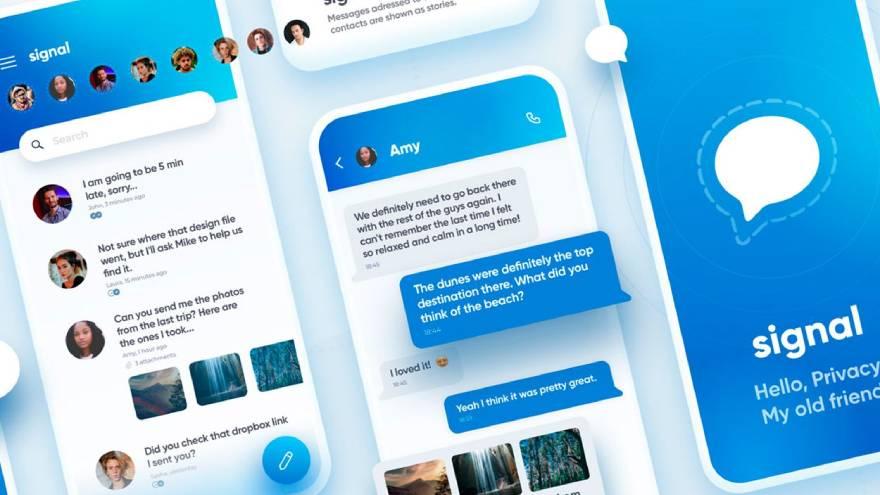 Signal experimentó un aumento repentino en los registros de nuevos usuarios