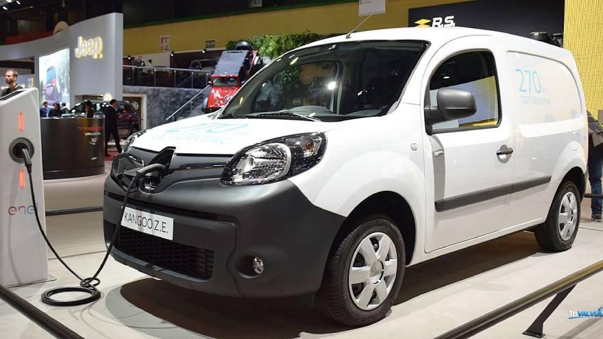 El Kangoo ZE es uno de los pocos vehículos eléctricos que se vendieron en Argentina