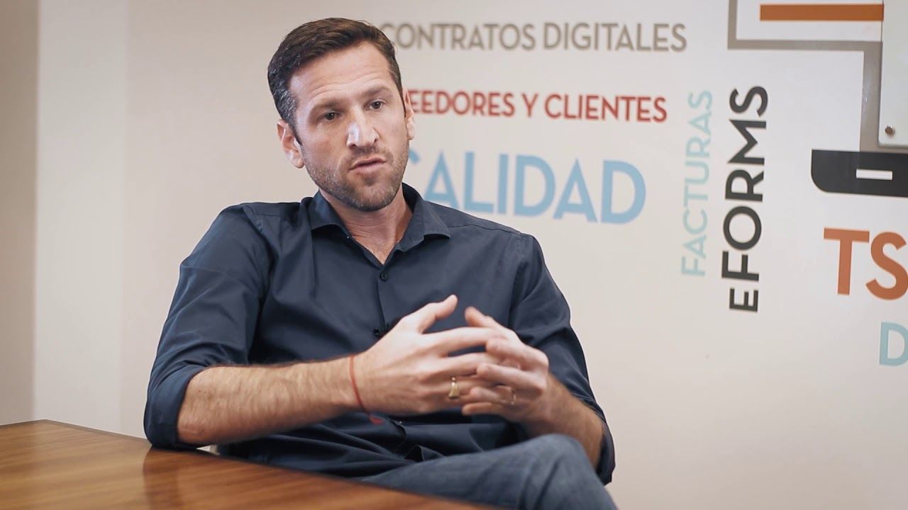 Esteban Zecler, CEO de Zetech