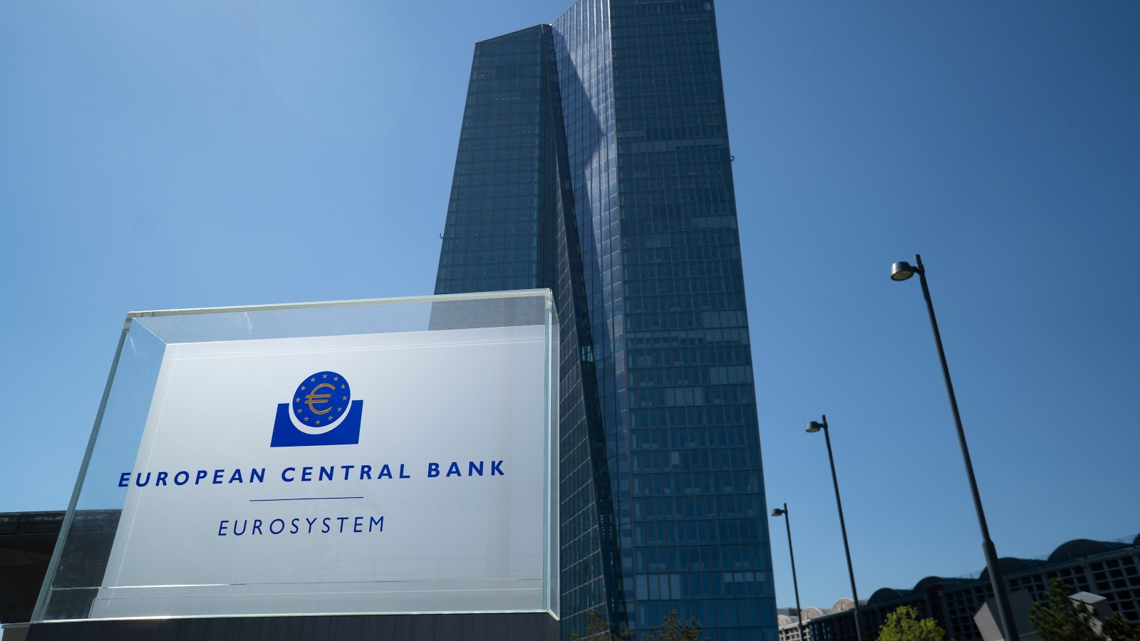 Sede del Banco Central Europeo, en Fráncfort del Meno, Alemania