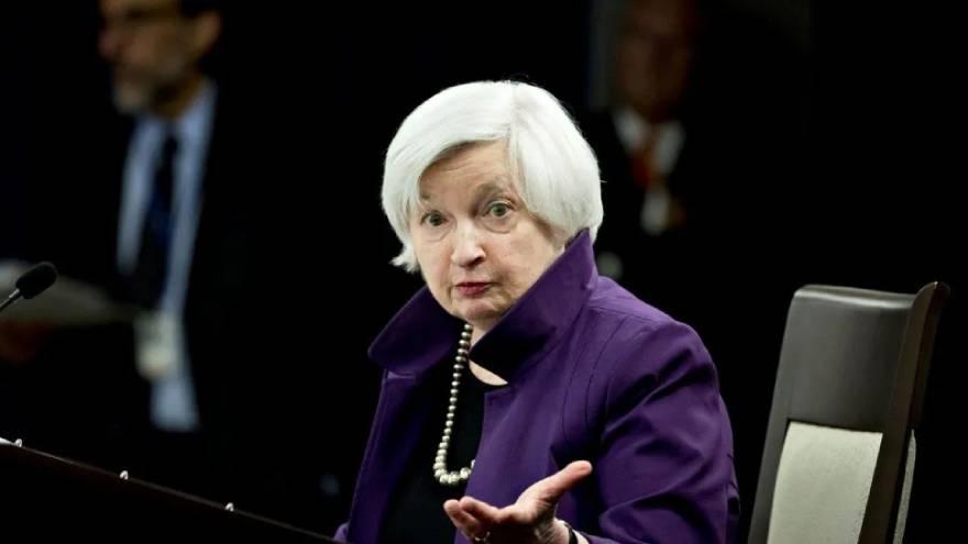 Janet Yellen, secretaria del Tesoro de Estados Unidos