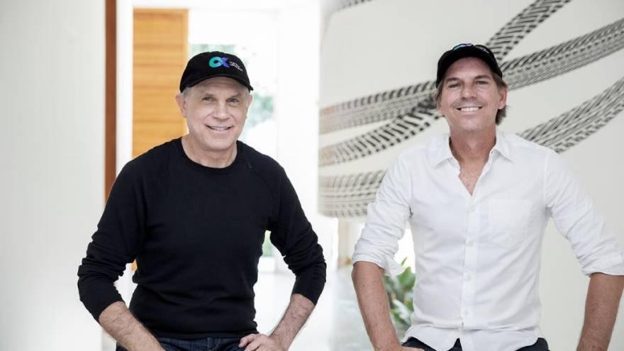 Rafael Steinhauser y Alec Oxenford lanzaron Alpha Capital, una empresa que buscará impulsar empresas tecnológicas de la región