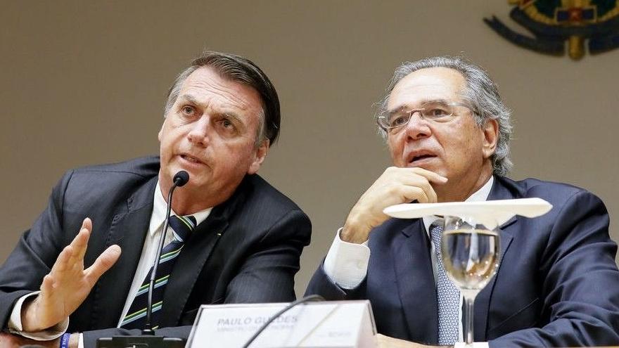 Paulo Guedes, que asumió el cargo en 2019 con el propósito de privatizar más de 600 empresas públicas