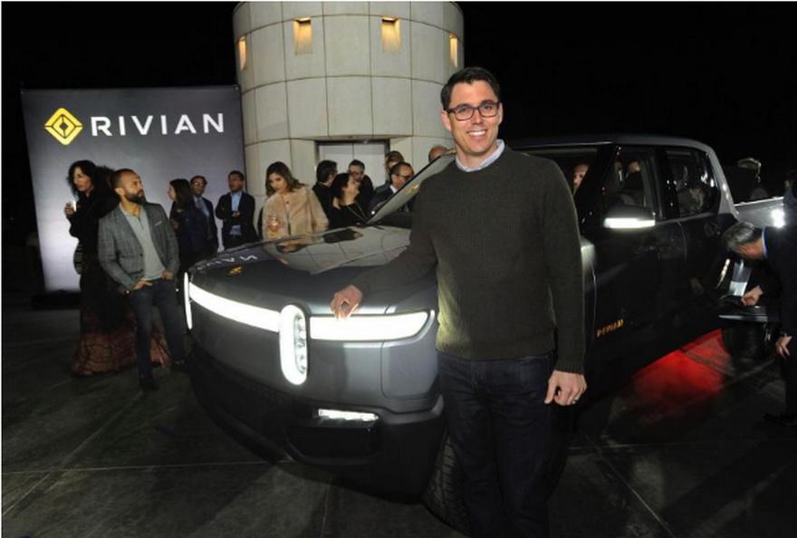 RJ Scaringe, fundador y CEO de Rivian