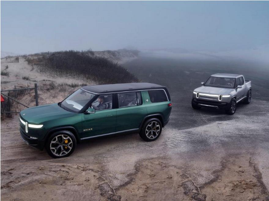 Rivian comenzará a entregar sus primeras pickup y SUV este invierno