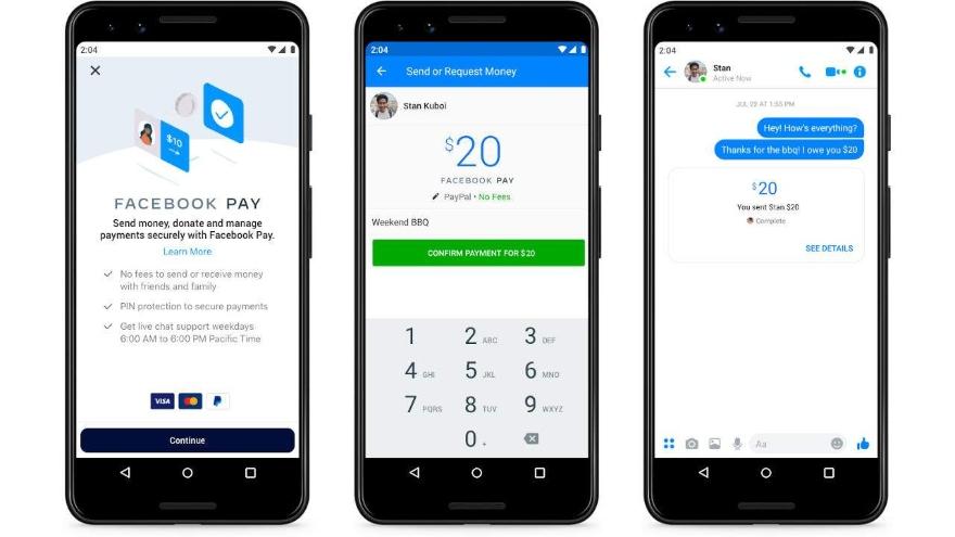 Facebook está expandiendo las experiencias de pago de Facebook Pay en otras áreas de sus aplicaciones y servicios