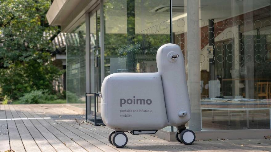 la Poimo no tiene una silueta estándar si no quepuede adaptar su ergonomíasegún la preferencia y necesidad de cada conductor