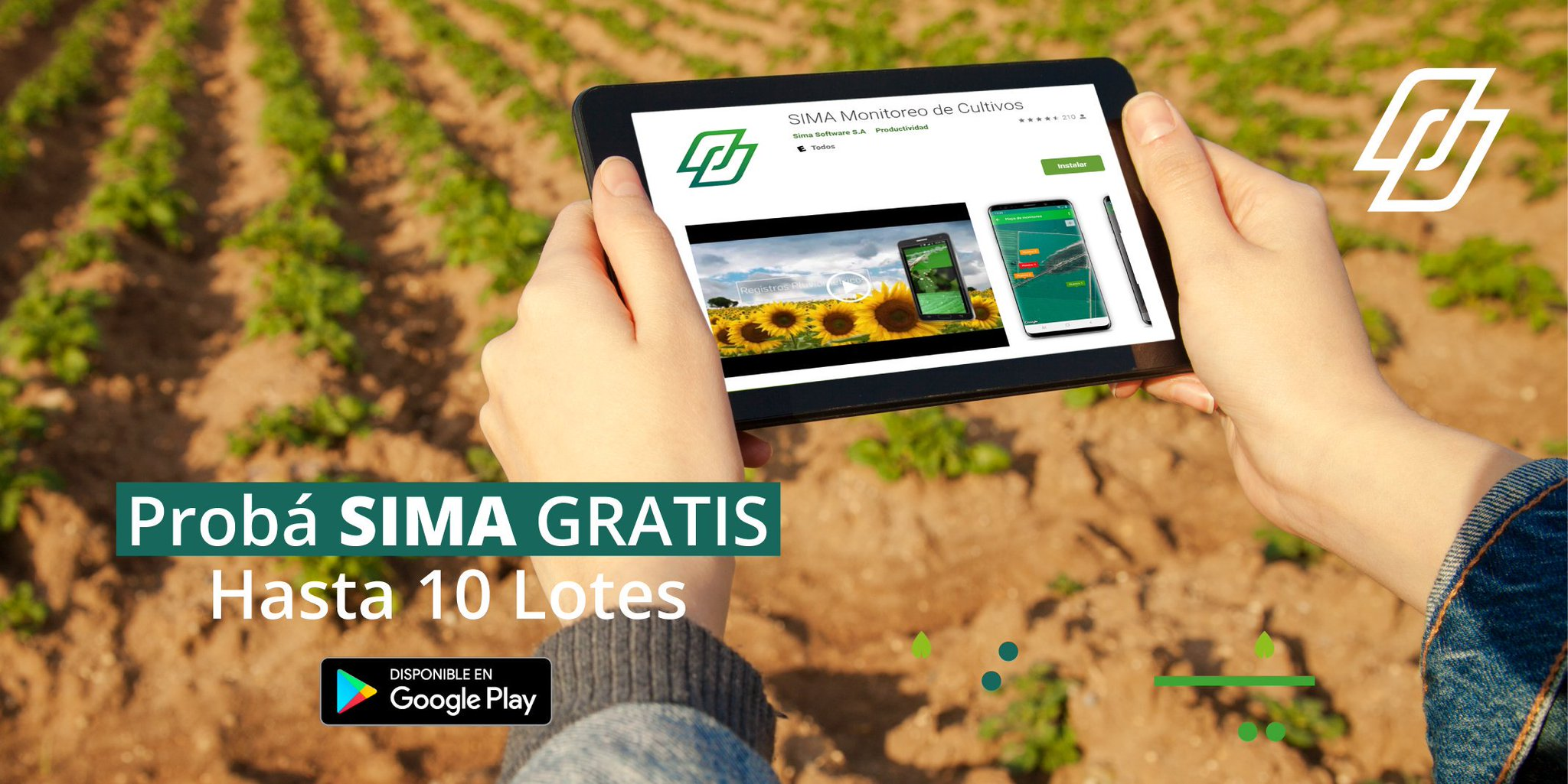 SIMA es una startup argentina que desarrolló un servicio de monitoreo de cultivos con alta precisión en colaboración con la NASA