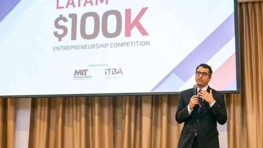 Lee Ullmann, director de la oficina para Latinoamérica del MIT Sloan School of Management, apoya la innovación en este concurso internacional