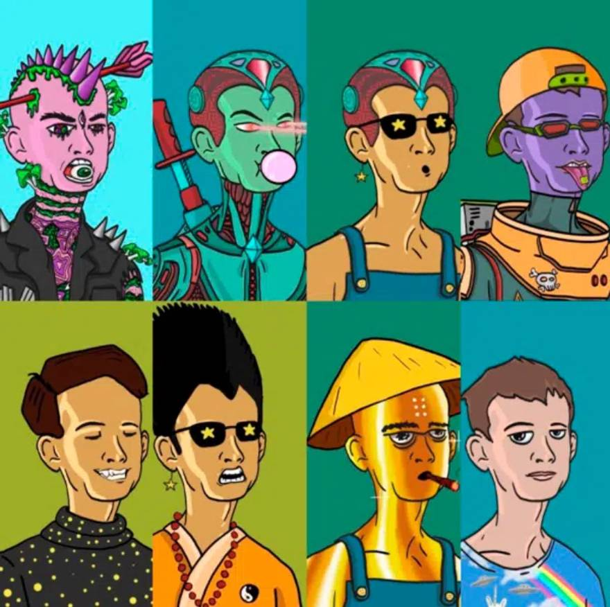 Users will be able to select from the multiple caricatured faces of Buterin in different styles.